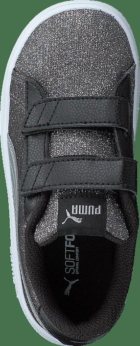 Puma Smash V2 Glitz Glam V Inf Puma Black-puma Silver-white