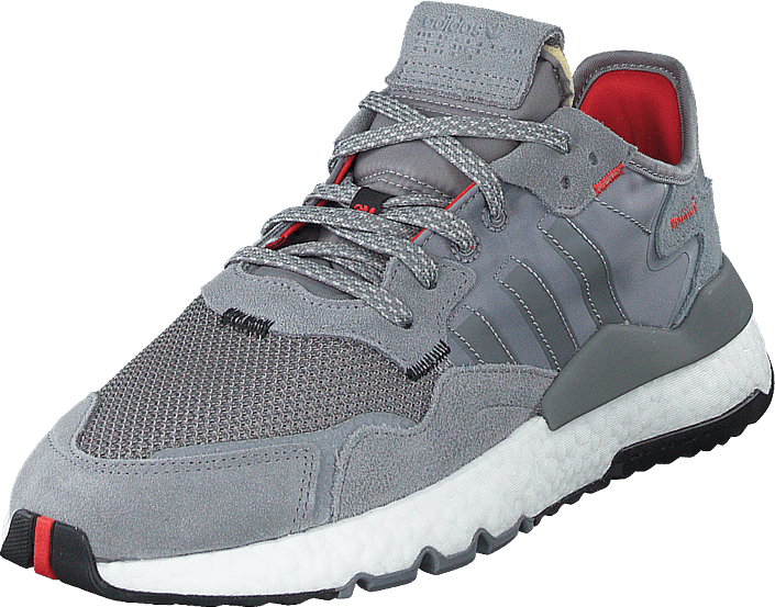 Nite Jogger Shoes Grey Three Cloud White