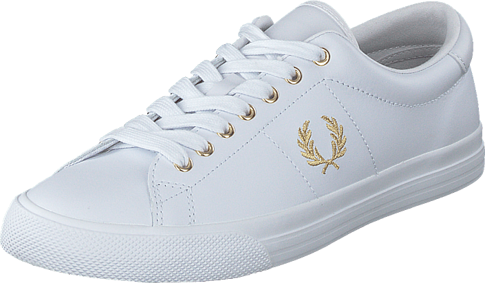 Fred Perry - Underspin Leather White