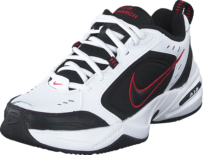 Nike - Air Monarch White/black-varsity Red