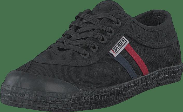 Retro Canvas Shoe Black Solid