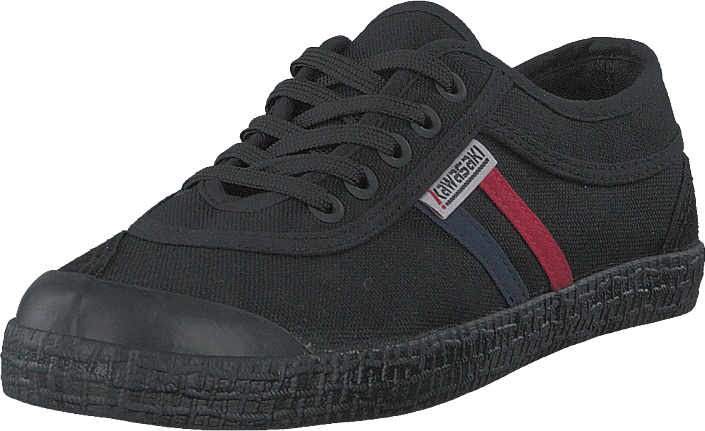 Kawasaki - Retro Canvas Shoe Black Solid