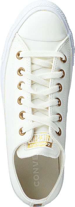 Chuck Taylor All Star Egret/gold/white