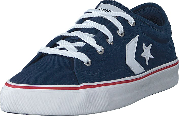 Converse Star Replay Navy/white/red, Skor, Sneakers och Träningsskor, Låga sneakers, Blå, Unisex, 38