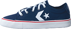 Star Replay Navy/white/red