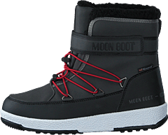 Moonboot Jr Boy Boot Black-dark Gray