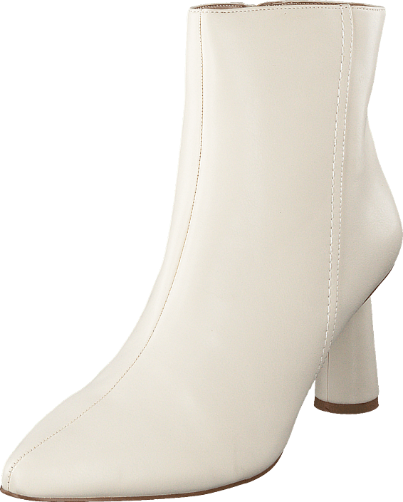 NA-KD - Cone Shape Ankle Boots Offwhite