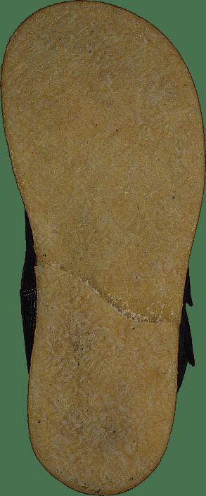 Tex-boot With Velcro Straps Mauvé Shine