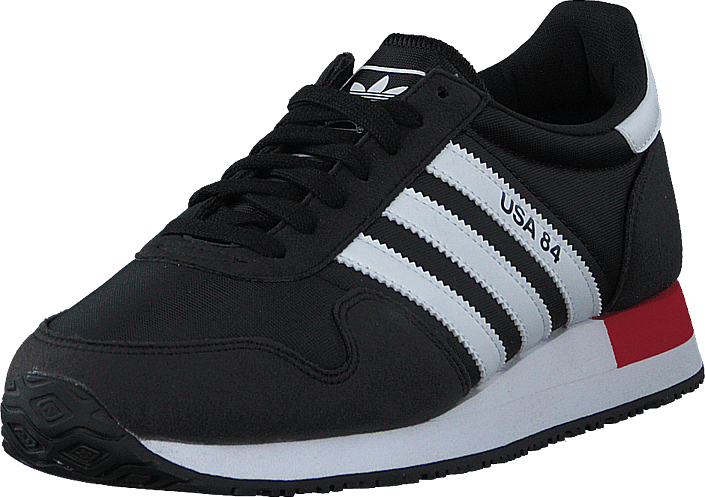 adidas Originals - Usa 84 Core Black/ftwr White/scarlet