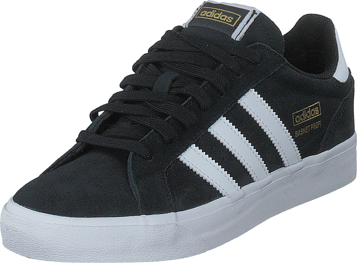 adidas Originals - Basket Profi Lo Core Black/ftwr White/gold Met