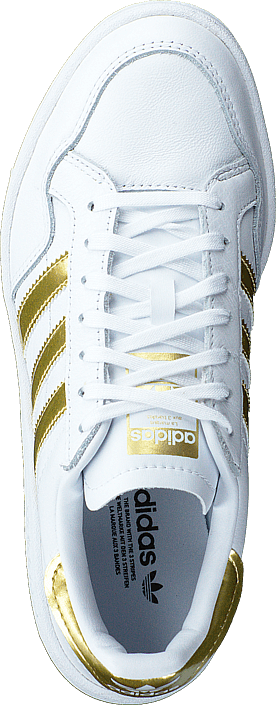 Adidas Originals Team Court W Ftwr White/gold Met./ftwr Whit Scarpe Online