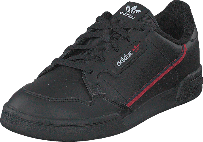 adidas Originals - Continental 80 C Core Black/scarlet/collegiate