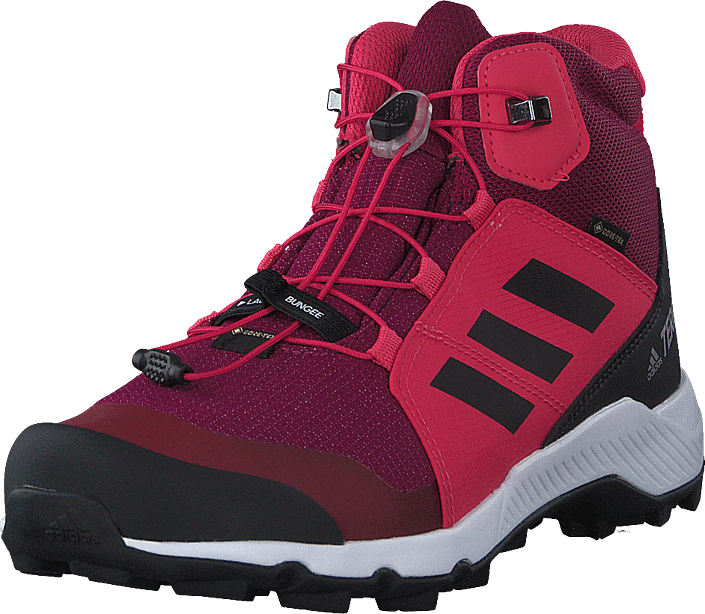 adidas Sport Performance - Terrex Mid Gtx K Power Berry/core Black/power P