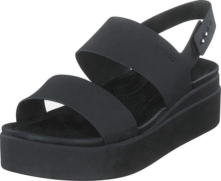 Crocs - Crocs Brooklyn Low Wedge Black/black
