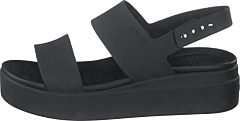 Crocs Brooklyn Low Wedge Black/black