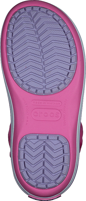 Crocband Winter Boot Kids Pink Lemonade/lavender
