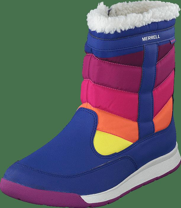 Alpine Puffer Boot Wtpf Blue/multi