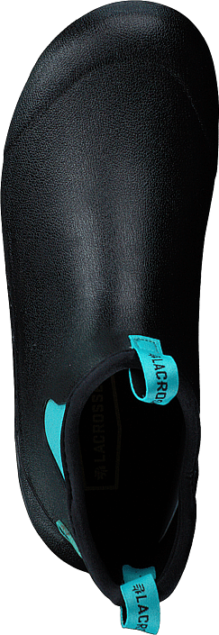 "Hampton Ii - Womens 6"" Black/turquoise"