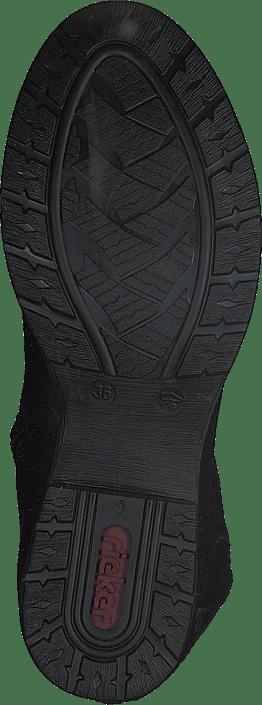 Kjøp Rieker Z9591-00 Black Sko Online