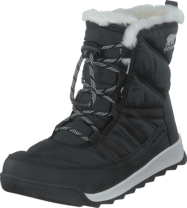 Sorel - Youth Whitney Ii Short Lace 010 Black
