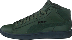 Puma Smash V2 Mid Wtr L Thyme-puma Black-dark Shadow