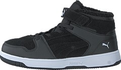 Puma Rebound Layup Fur Sd V Ps Puma Black-puma White