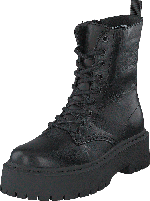 Biadeb Laced Up Boot Black