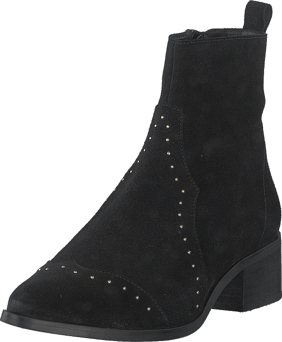 Bianco - Biadora Western Ankle Boot Black 1