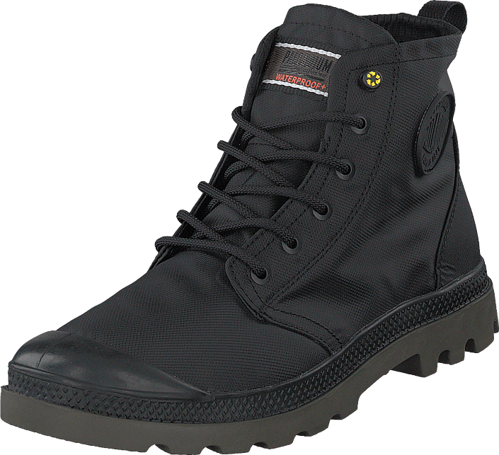 Palladium - Pampa Rcycl Wp+ Black