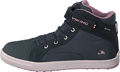 Leah Mid Kids Gtx Dark Grey/dusty Pink