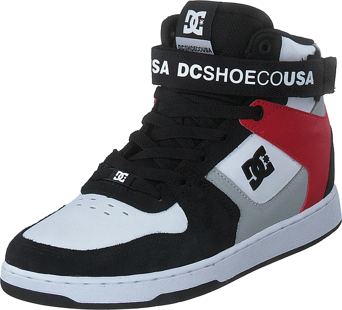 DC Shoes - Pensford Black/grey/red