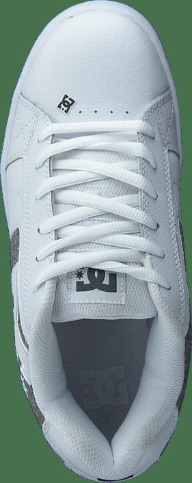 Kjøp Dc Shoes Net White/armor/white Sko Online