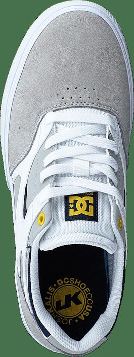 Kjøp Dc Shoes Kalis Vulc White/grey/grey Sko Online