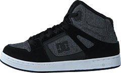 Pure High-top Black/heather Grey
