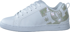 Court Graffik White/silver Stars
