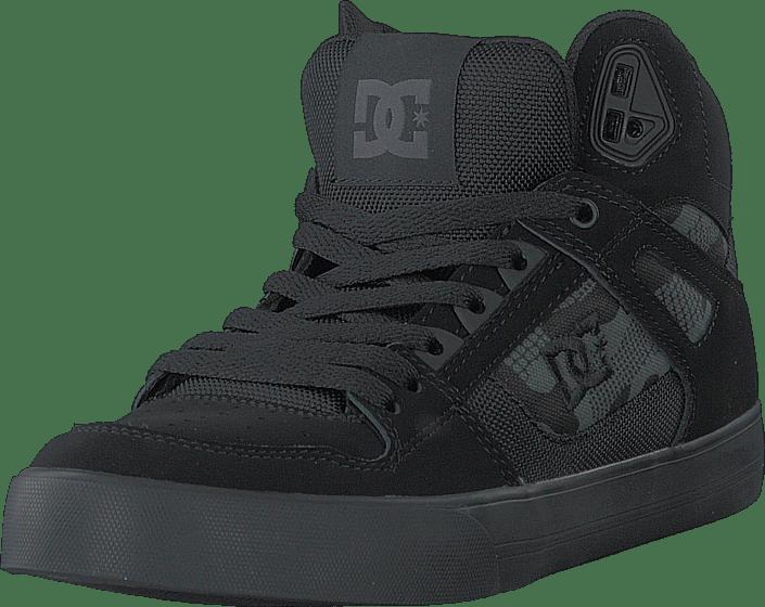 DC Shoes - Pure High-top Wc Black/camo