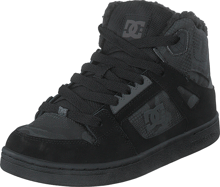DC Shoes - Pure High-top Wnt Black Camouflage