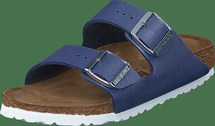 Birkenstock - Arizona Slim Icy Metallic Azure Blue