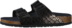 Arizona Slim Gator Gleam Black