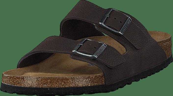 Birkenstock - Arizona Soft Regular Tumbuling Buck Soft Brown