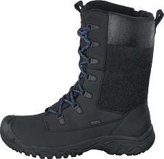 Greta Tall Boot Wp Black/black