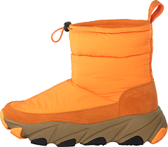 Low Winter Boots Orange