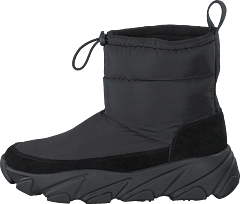 Low Winter Boots Black