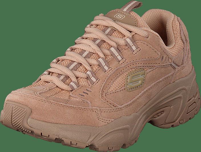Skechers - Womens Stamina - Uplift Trail Tan