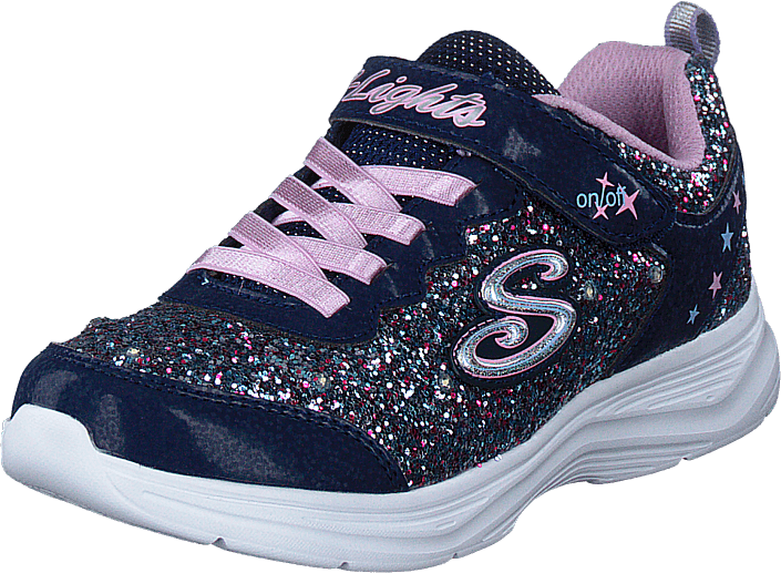 Skechers - Girls Glimmer Kicks Nvlv