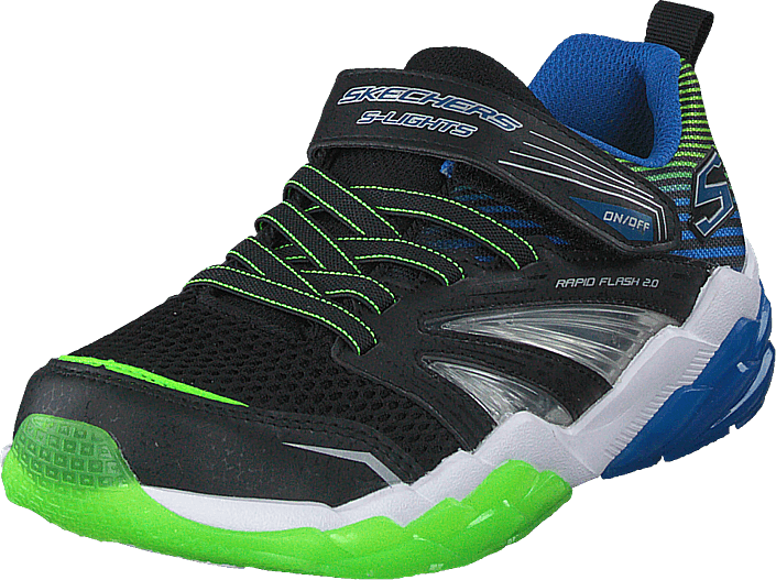 Skechers - Boys Rapid Flash 2.0 Bblm