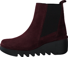 Bagu233fly Oil Suede Wine