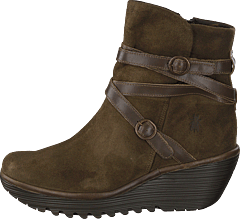 Yomo249fly Oil Suede/rug Sludge/olive