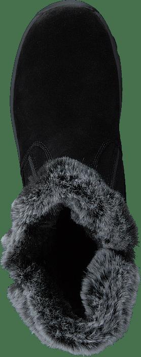 Eskimo Olara Black Svarta mockaboots med dubbar Damskor