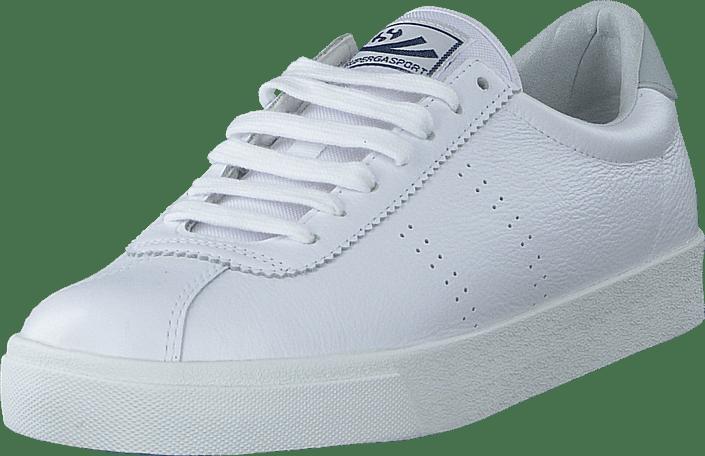 Kjøp Superga 2843 Clubs Comfleau White grey Ash sko Online